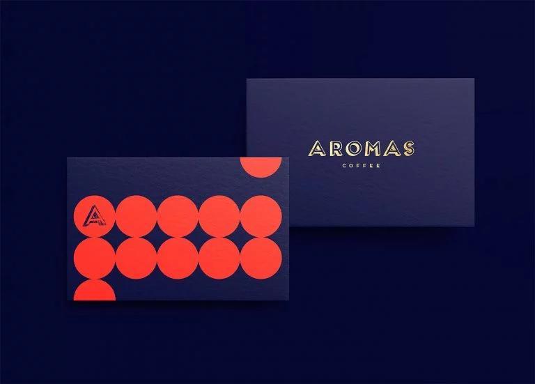 Aromas咖啡品牌和包装设计