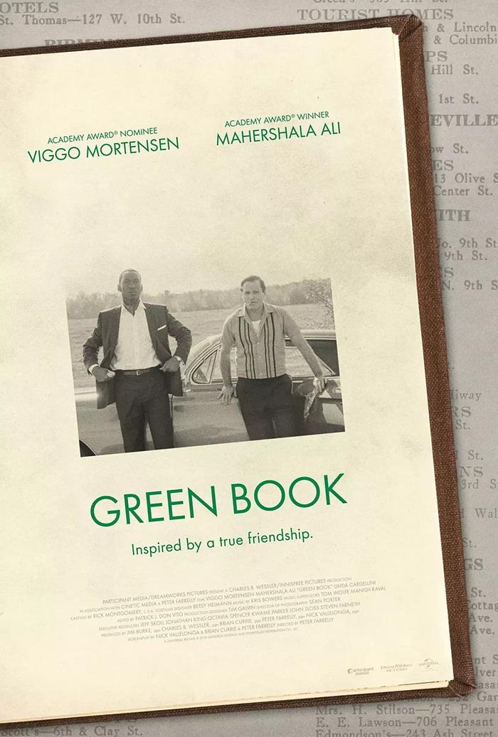 电影海报欣赏:绿皮书(Green Book)
