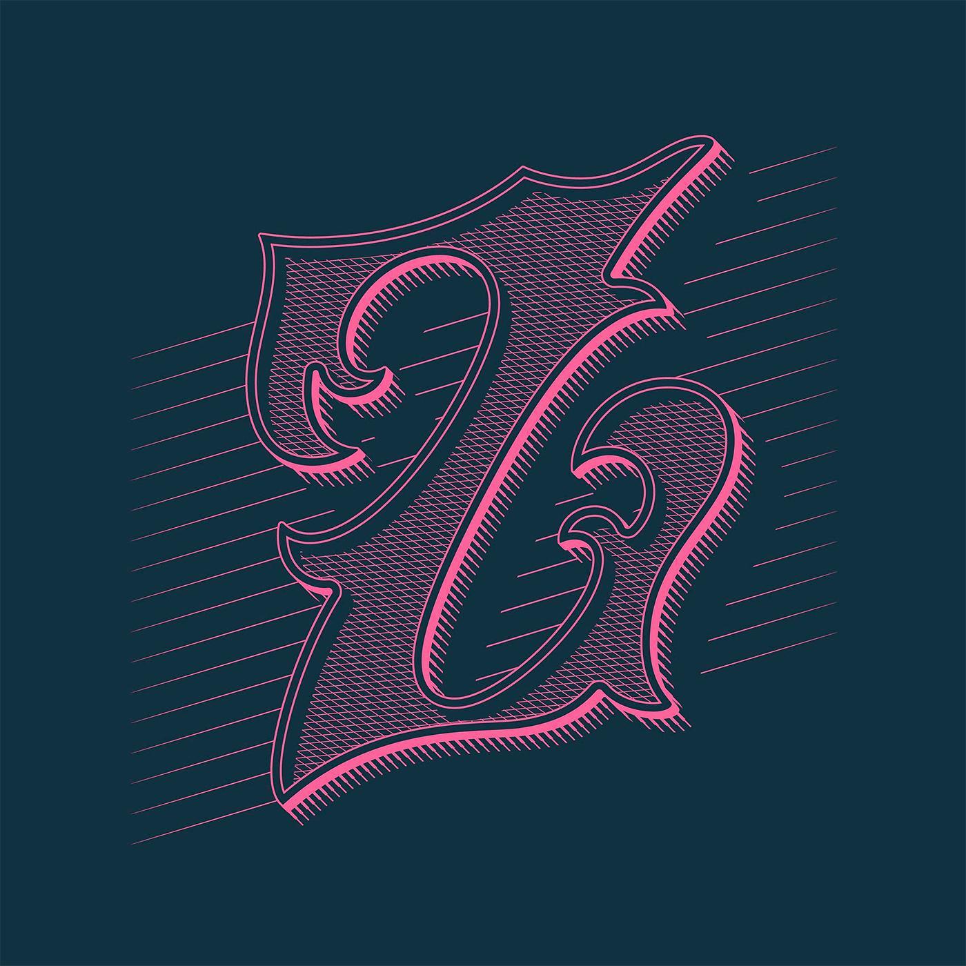 Dan Forster创意字体设计