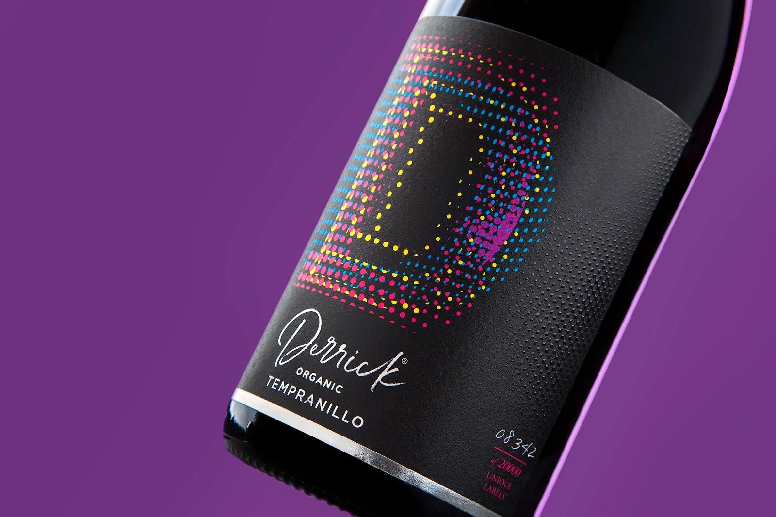 Derrick葡萄酒包装设计