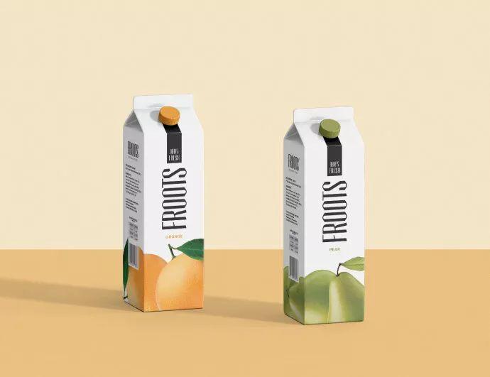 Froots果汁包装设计