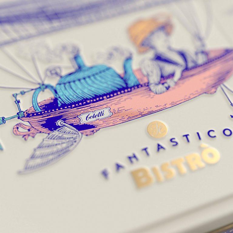Il Fantastico Bistrò盒装巧克力包装设计
