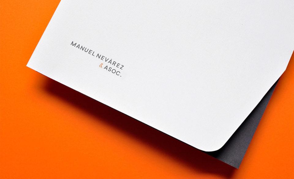 法律和财务咨询公司Manuel Nevárez & Asoc.品牌VI设计