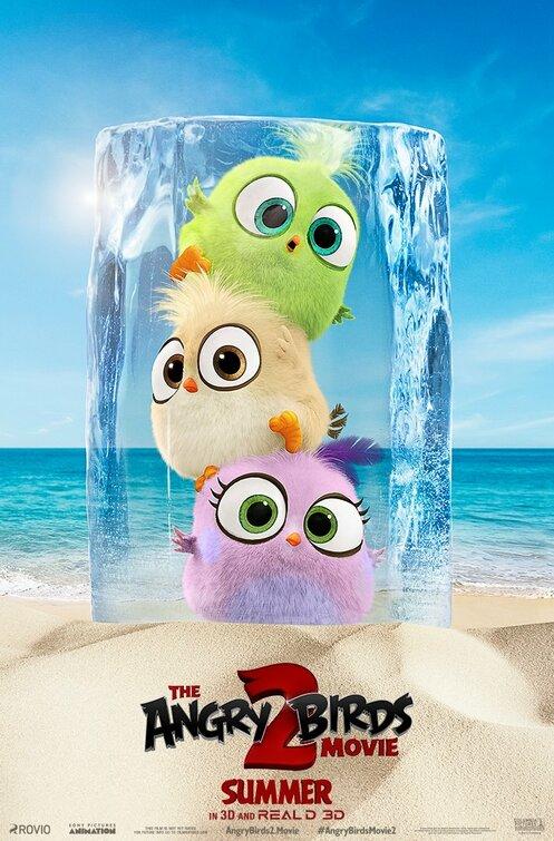 电影海报欣赏:愤怒的小鸟2