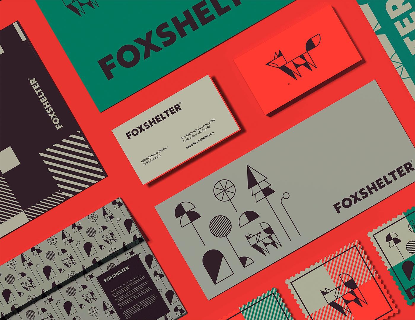 Foxshelter汉堡餐厅品牌VI设计