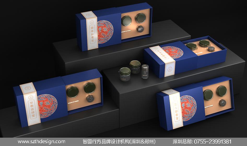 高档特产礼盒包装设计欣赏