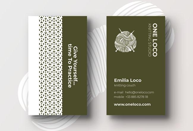 国外设计师Felicity Morgan名片设计与名片模版