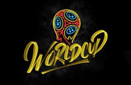 法国Stephane Lopes俄罗斯世界杯主题手绘LOGO设计欣赏