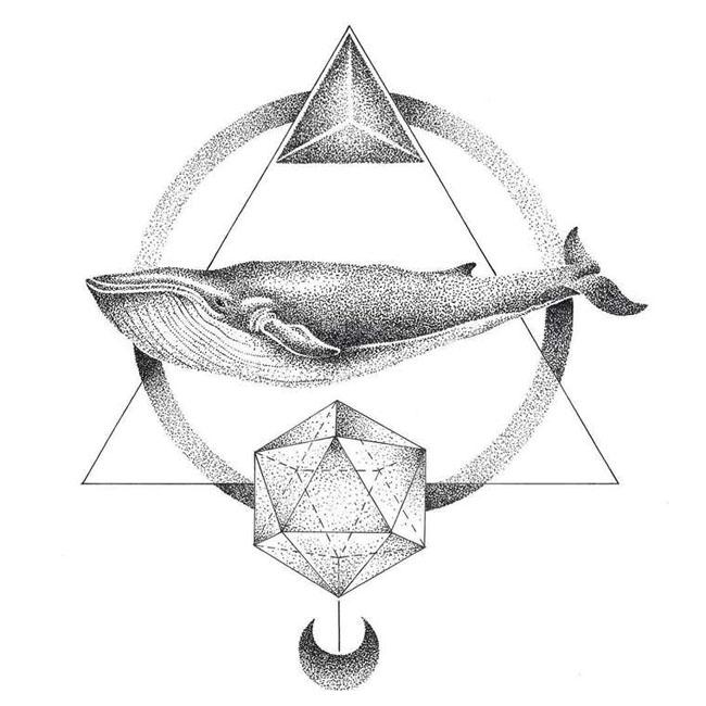 Thiago Bianchini点阵式艺术插画设计