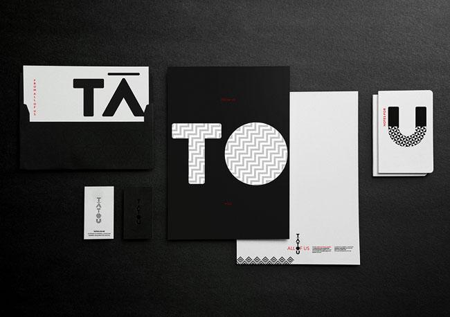 TATOU文化传媒公司品牌形象设计