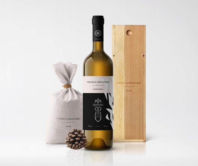 Winnica Uroczysko葡萄酒系列精美包装欣赏