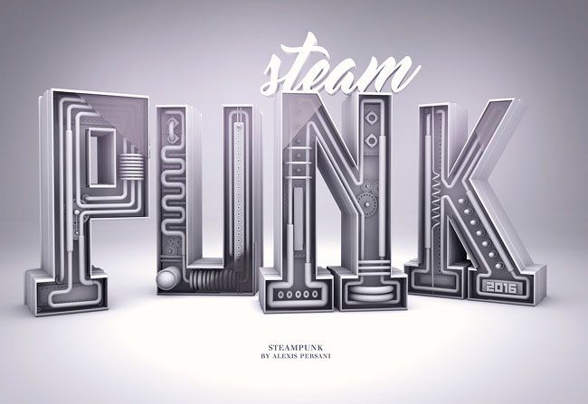 法国设计师Alexis Persani精彩字体设计(四)