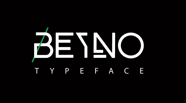 BEYNO创意英文字体设计
