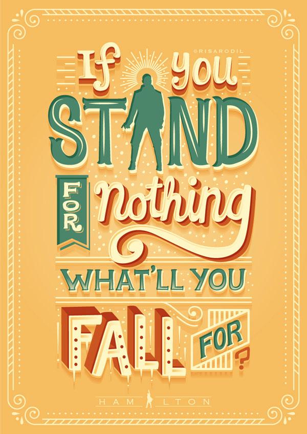 菲律宾设计师Risa Rodil字体海报设计作品(七)