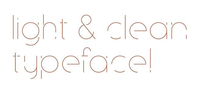 优美的Speck英文字体设计