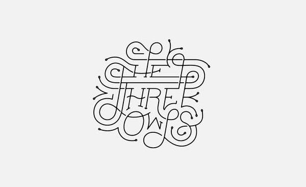 12款国外优秀精彩创意字体设计作品集NO.56