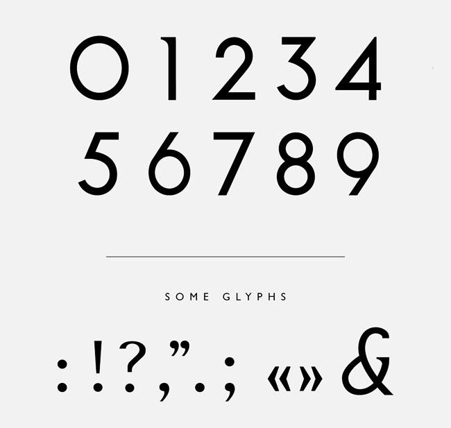 美观实用的NOOA英文字体设计