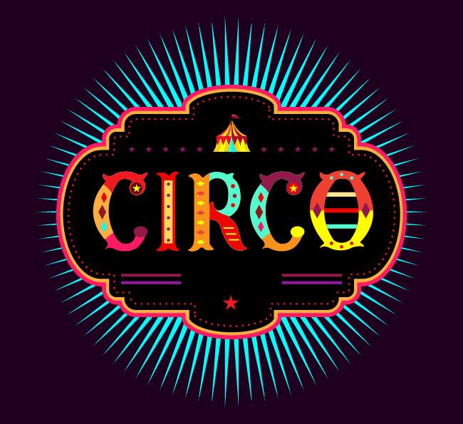 国外字体设计之CIRCO彩色英文字体设计