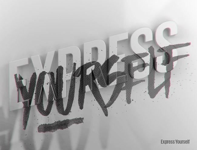 Expressive系列个性字体设计欣赏