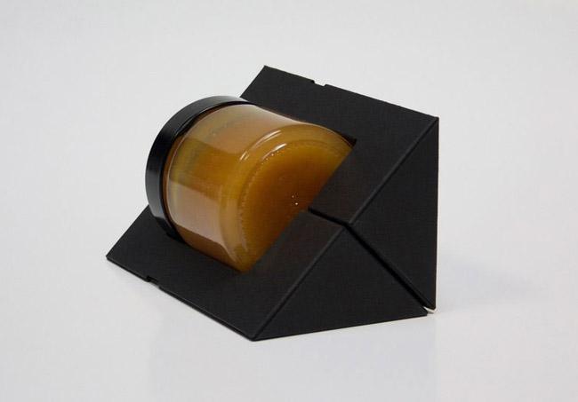 国外The True Honey蜂蜜创意包装设计欣赏