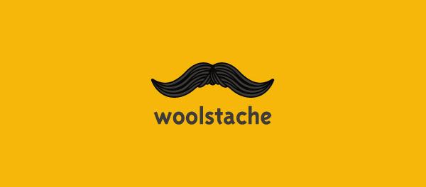 20个胡子形状的创意标志LOGO设计