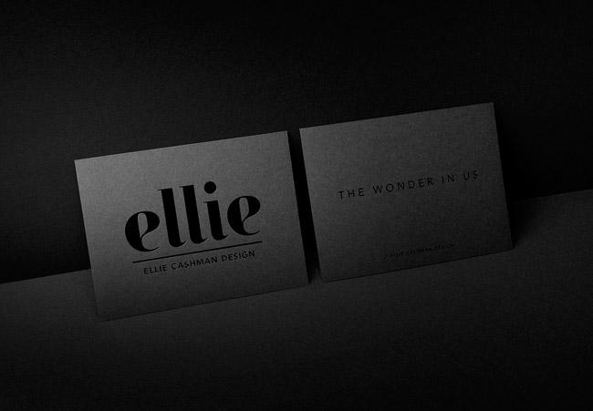 国外Ellie花卉印花品牌VI形象设计
