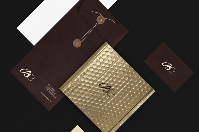 国外Bon Chateau品牌VI设计(一)