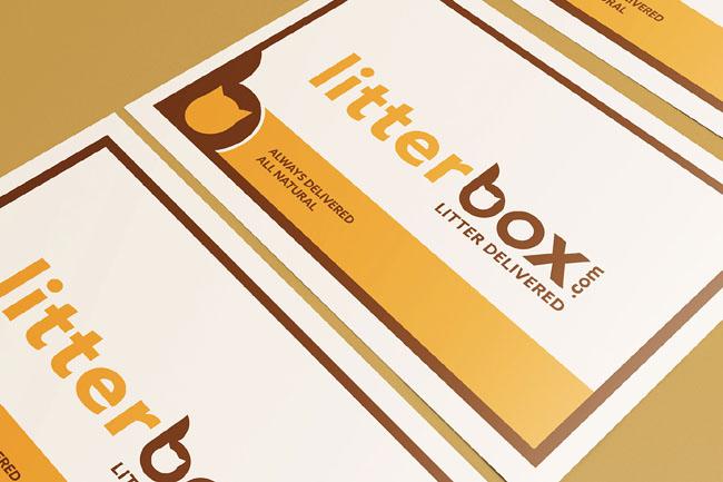 国外Litterbox猫砂品牌VI设计欣赏