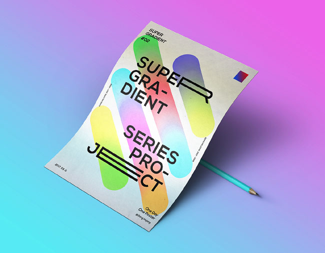 韩国设计师Song hojong极简海报设计欣赏