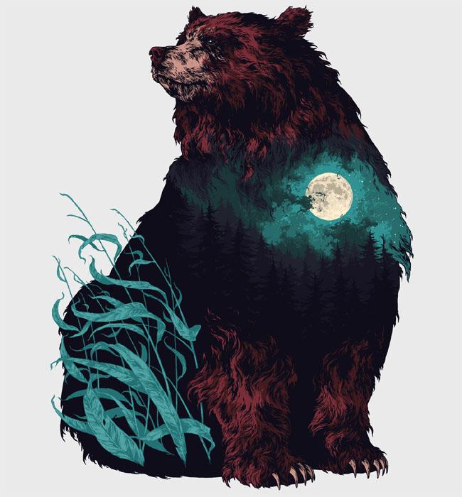 俄罗斯插画师Ivan Belikov动物插画设计欣赏