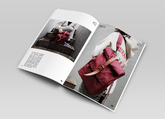 国外KU包包品牌画册设计欣赏