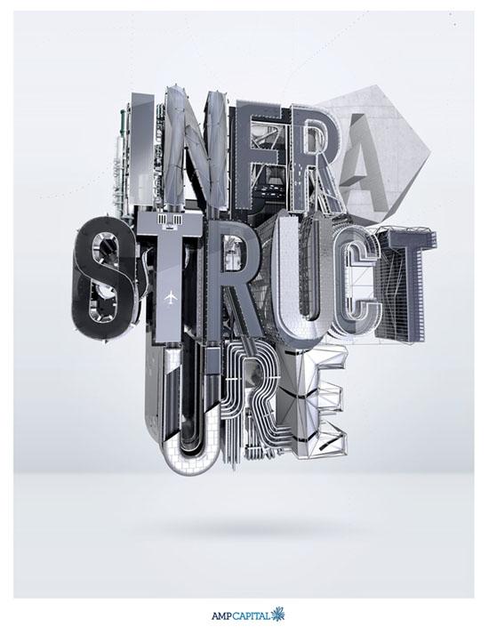 10款国外优秀精彩创意字体设计作品集NO.28