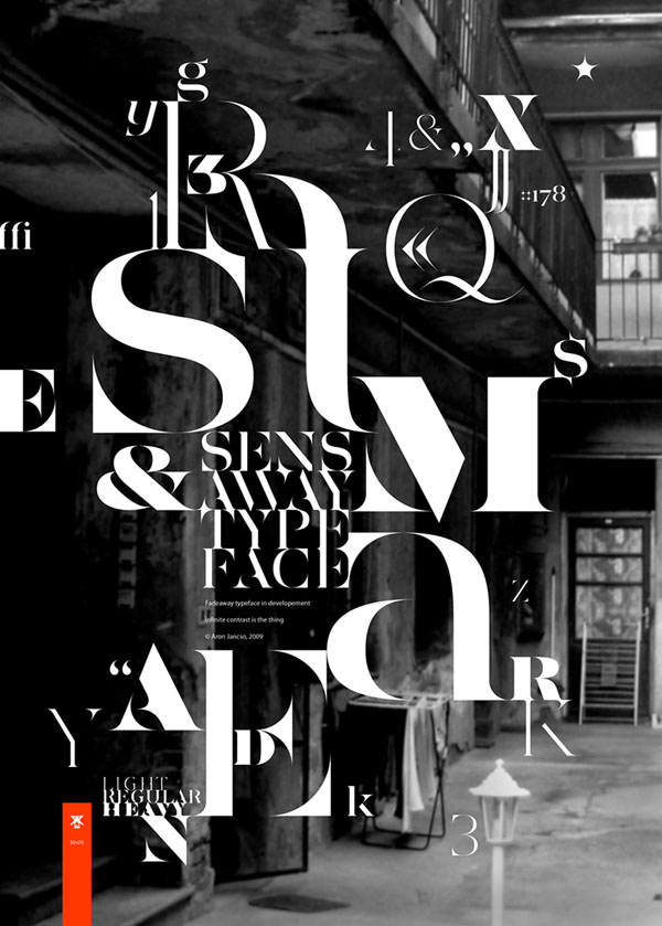 20款品牌字体海报设计作品(2)