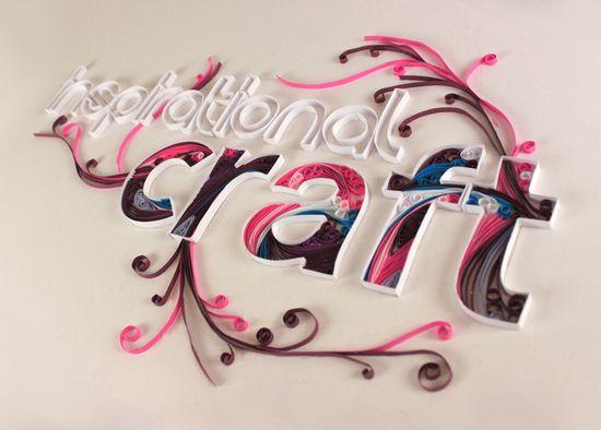 国外设计师Brant Wilson优秀3D字体设计作品(一)