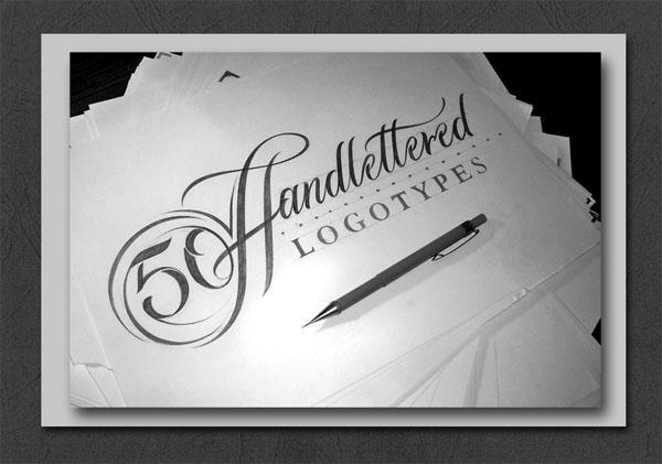 国外英文字体设计之精彩的黑白LOGO字体作品合集85P(三)