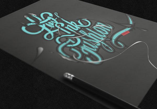 国外设计师Angelos Botsis时尚字体海报设计