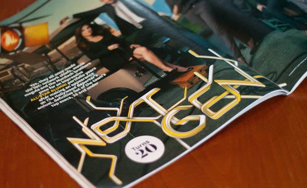 国外杂志封面时尚字体设计(三)