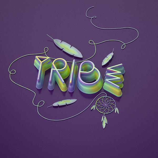 国外设计师rdn studio工作室字体设计作品