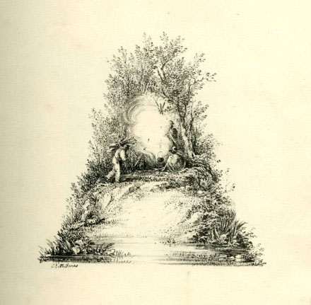 英国CharlesJosephHullmande景观字母设计