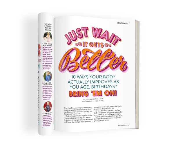 国外设计师Tobias Hall杂志字体设计12P