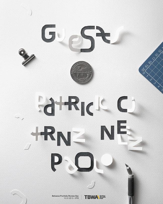 菲律宾设计师John Ed De Vera手工字体海报设计