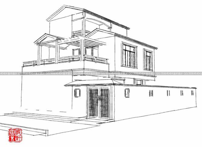 别墅-田木建筑_田木建筑设计公司案例展示
