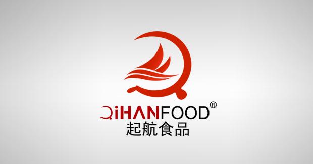 """食品公司征集""""起航""""商标logo设计"""