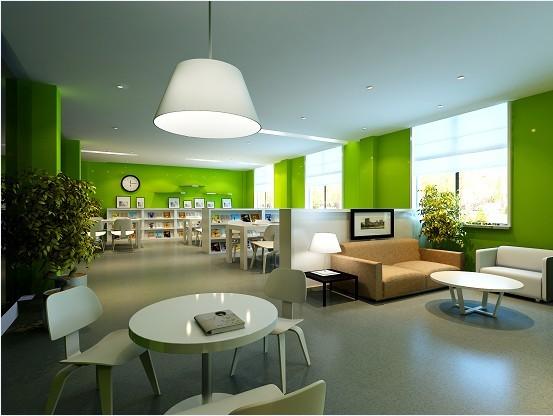 阅览室装修设计成功案例