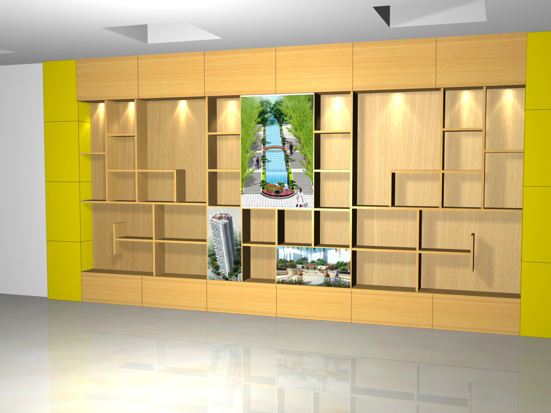 具体尺寸:6.1x3.5米,主要展示荣誉证书,奖牌及资料等.