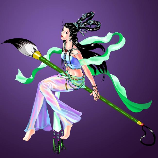 神话卡通形象设计