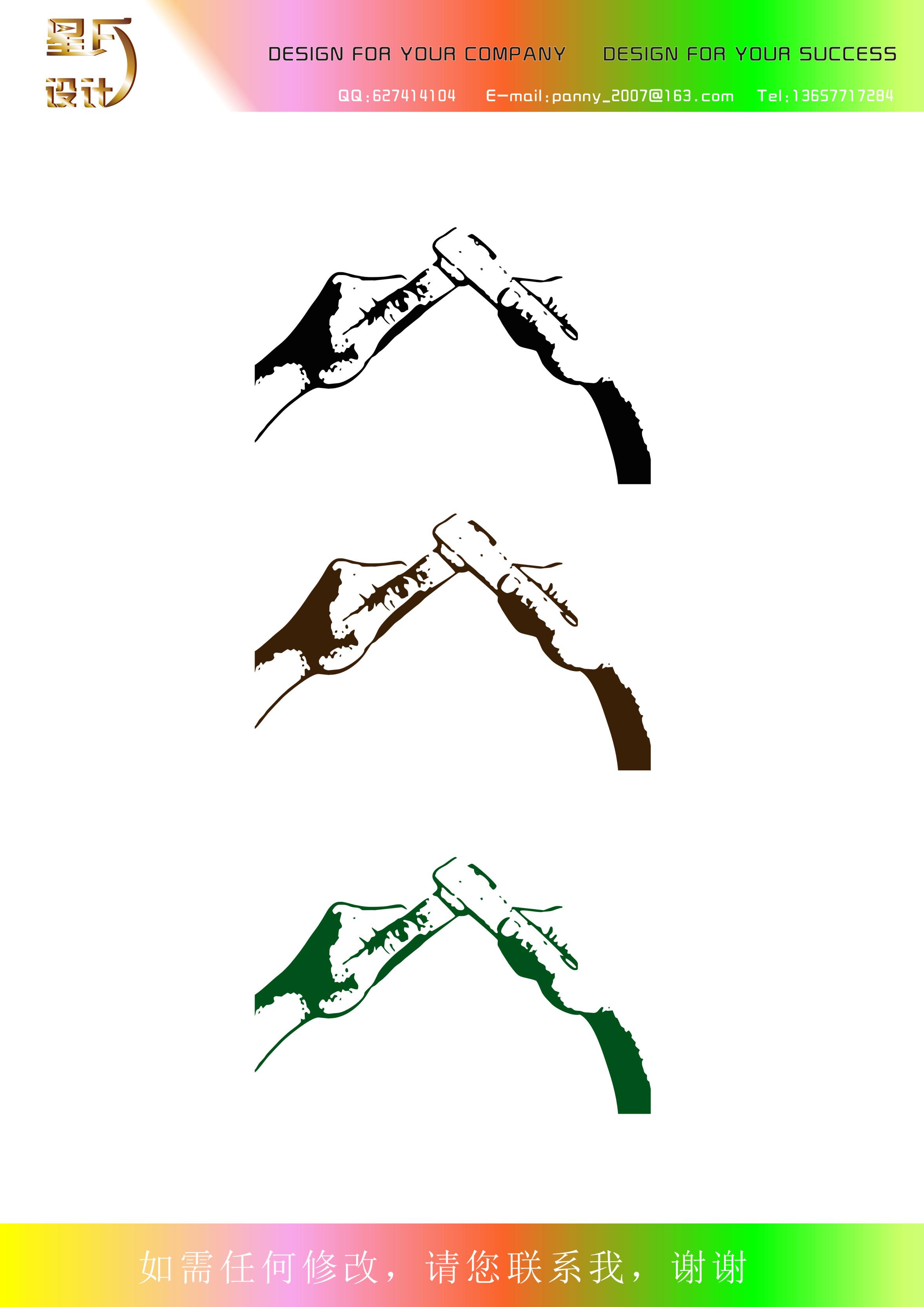 把照片变成简约的手绘单色效果