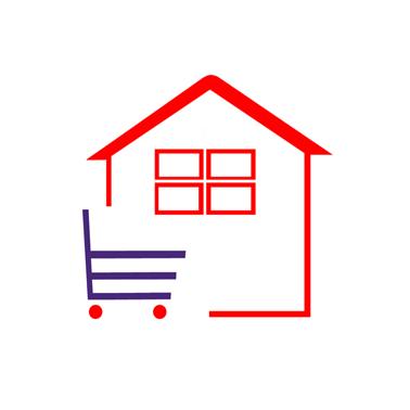 购物标志矢量图