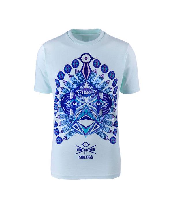 蓝色衣服设计素材