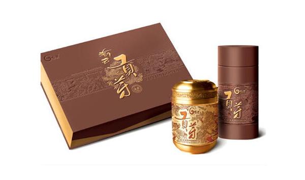 簡約高檔茶葉包裝盒設計欣賞